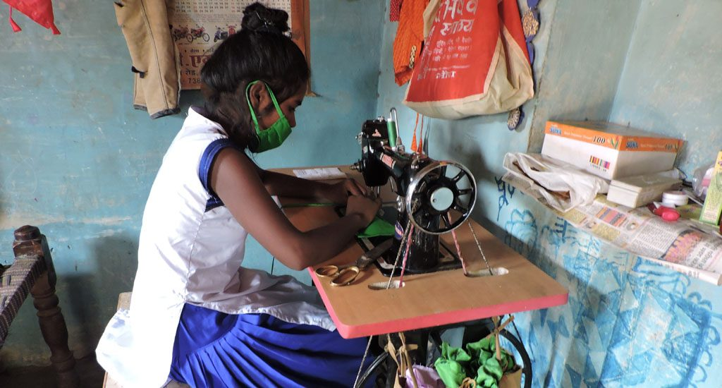 Adolescent girls progress towards complete empowerment