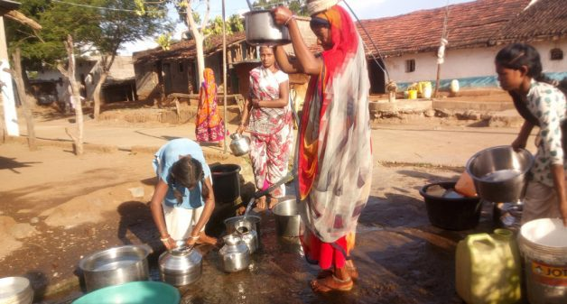 Women ensure regular access to drinking water