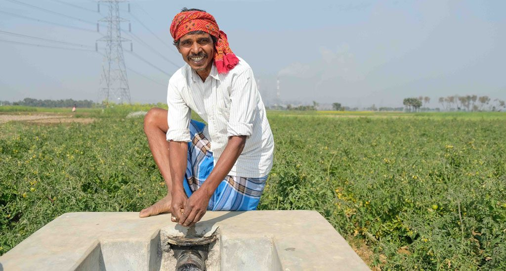 Lift Irrigation helps monsoon-reliant farmers flourish