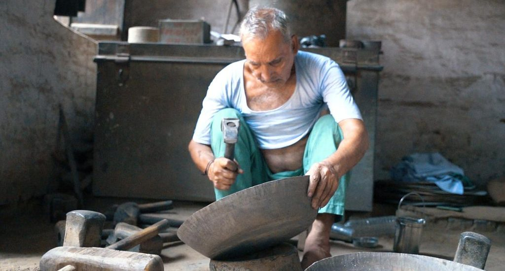 Students help revive traditional metal craft