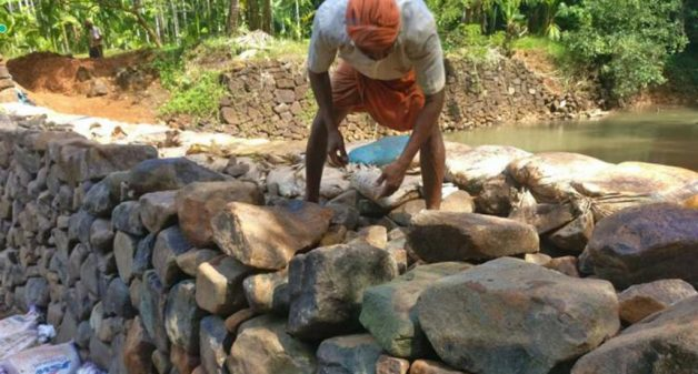 Kerala farmers revive age-old check dams