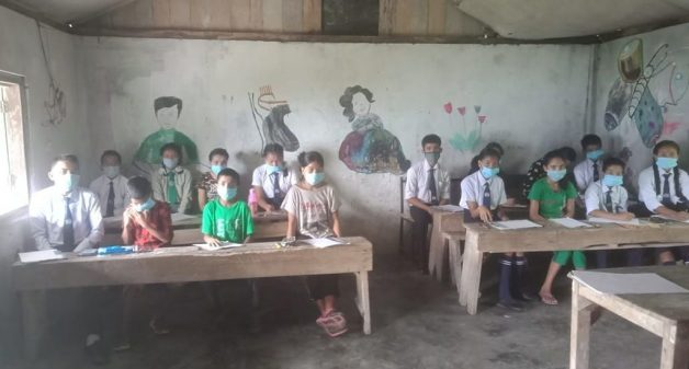 Villagers build secondary school to educate their children