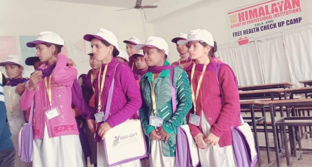 Women get trained for employment and starting enterprises