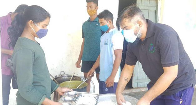 Nutritious meals ensure food security of marginalized during lockdown