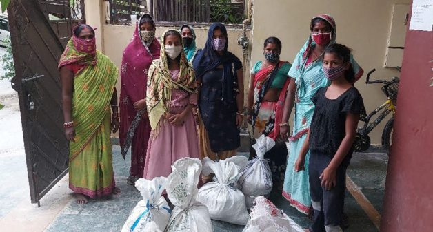 Ration sustains marginalized households through lockdown